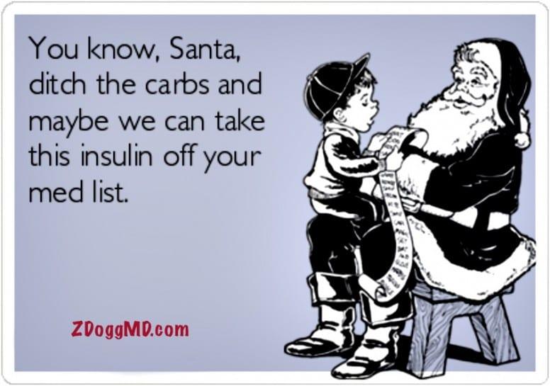 Santa Claus has Diabetes | ZDoggMD.com