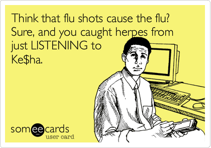 Flu Shot ECard by ZDoggMD