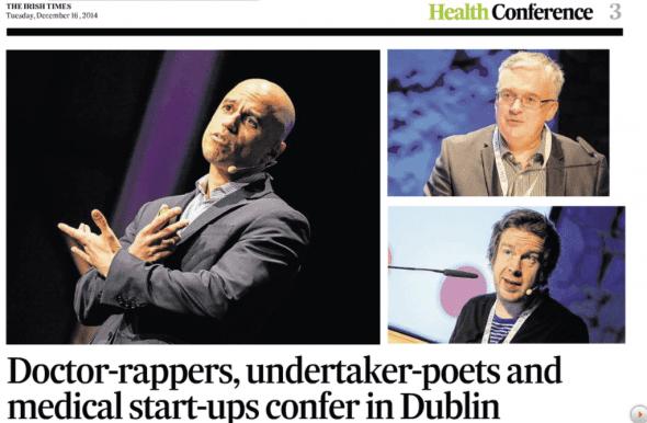 ZDoggMD | Irish Times | Zubin Damania