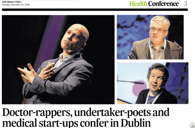 ZDoggMD | Irish Times | Zubin Damania