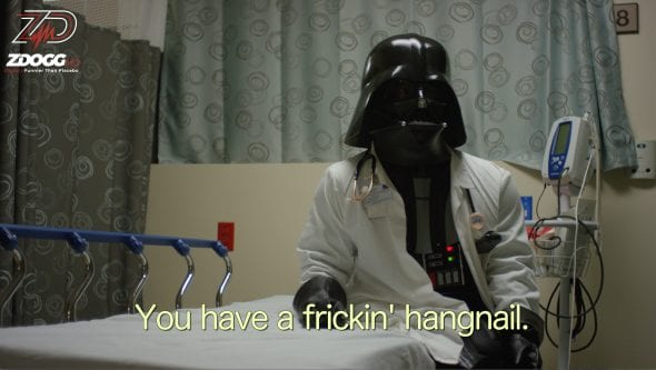 Doc Vader Emergency Room Fails