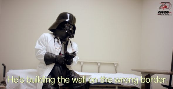 Doc Vader on banning immigrants   ZDoggMD