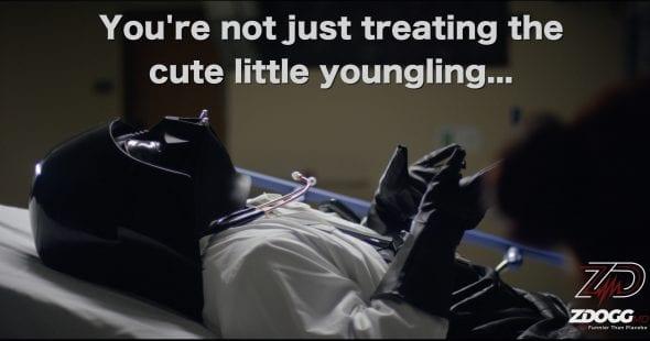 Doc Vader talk about Peds | ZDoggMD.com