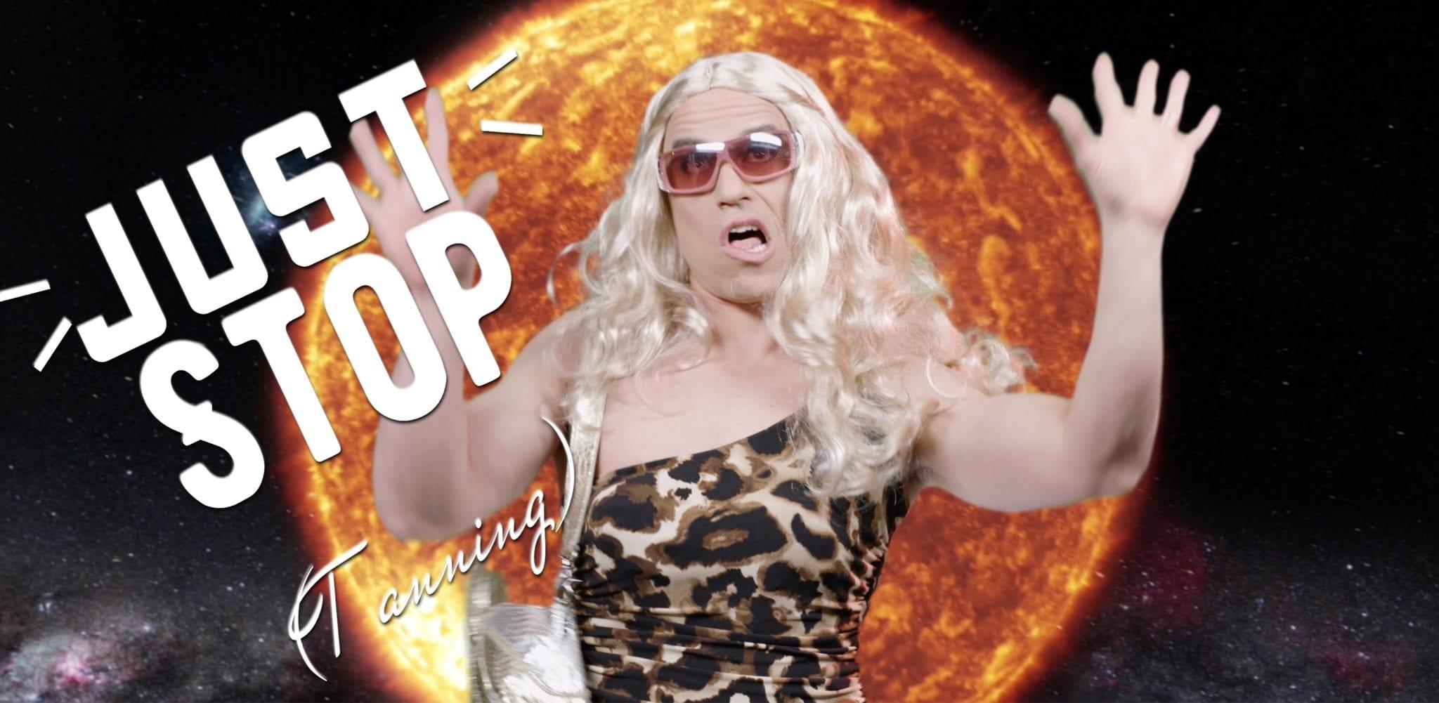 stop kesha tanning salon parody dontgetburned