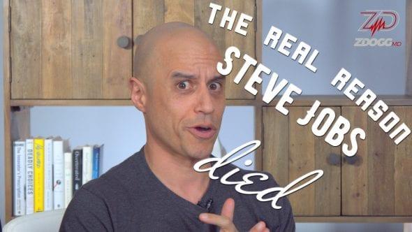 Here's What Killed Steve Jobs