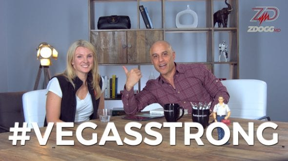 allison andersen #vegasstrong with ZDoggMD