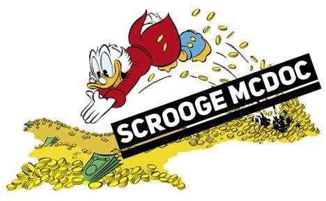 Scrooge McDoc is Bankrupting America!