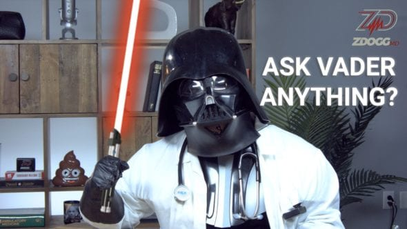 ASK VADER ANYTHING #FORCEFRIDAY