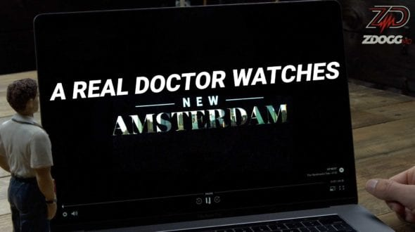a real doctor watches New Amsterdam