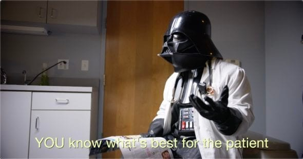 DOC VADER ON MICROMANAGING ADMINISTRATORS