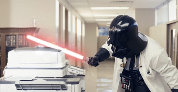 Doc Vader in The Pager Menace Trilogy by ZDoggMD