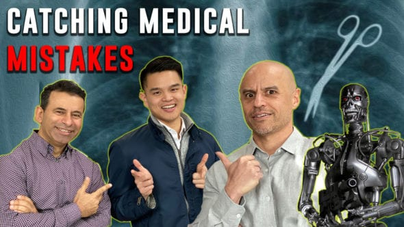 Drs Marty Makary and Zubin Damania talk AI with Pelu Tran